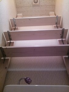 スッキリ整頓1万円でトイレ diy 収納力が有る3段棚可変式