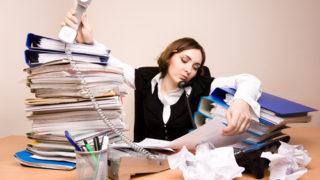 忙しい!と動いている人間ほど、仕事の能力が低いかもしれないという事。。。