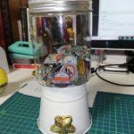 【DIY】30分600円で作るガチャガチャ風ポットを手作り!かわいくておしゃれなポットです。