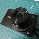 Cyber-shot DSC-WX350 サイバーショットの「バリア」の不具合。購入後3か月目にして気が付いた。