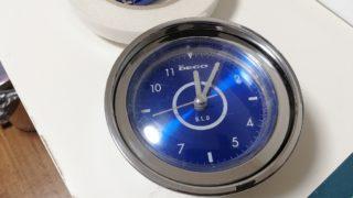 スタンドマイク風のレトロな置時計を修理する。後編。