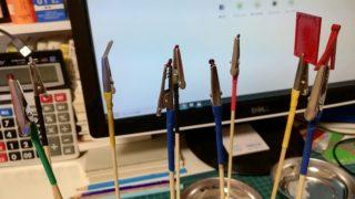 【あると便利】ペインティングクリップ(塗装持ち手)を激安で作れます。